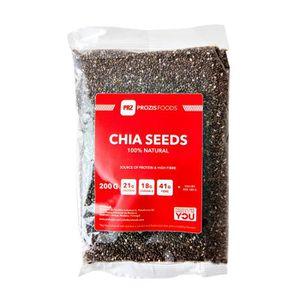 REPAS DÉSHYDRATÉ PROZIS - Graines de Chia 200 g - Source de protéin