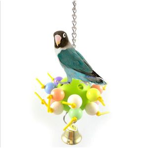 JOUET jouet pour oiseau Mâcher jouet Plastique Boule de