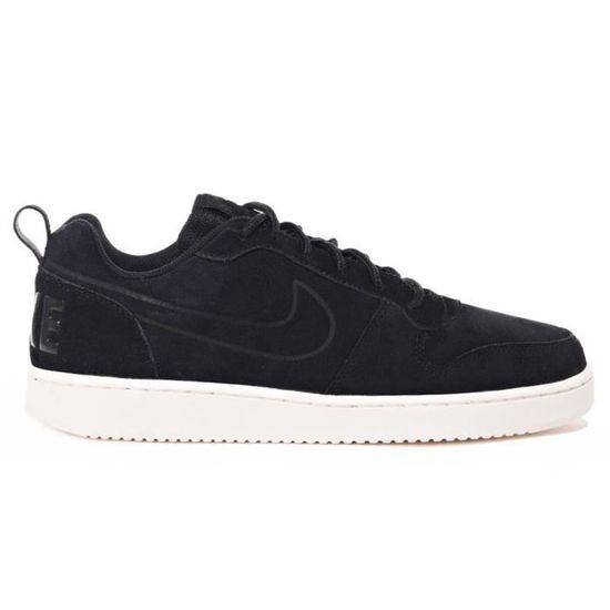 Chaussures Nike Court Borough Low Prem Noir Noir - Achat / Vente basket