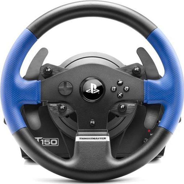 VOLANT PC THRUSTMASTER Volant T150RS - PS3 / PS4 / PC