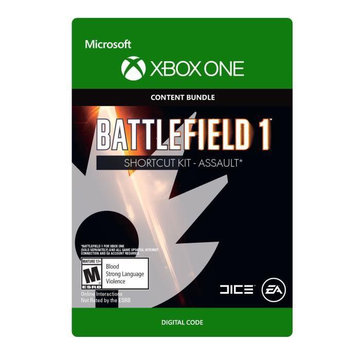DLC Battlefield 1: Shortcut Kit -Assault Bundle pour Xbox One