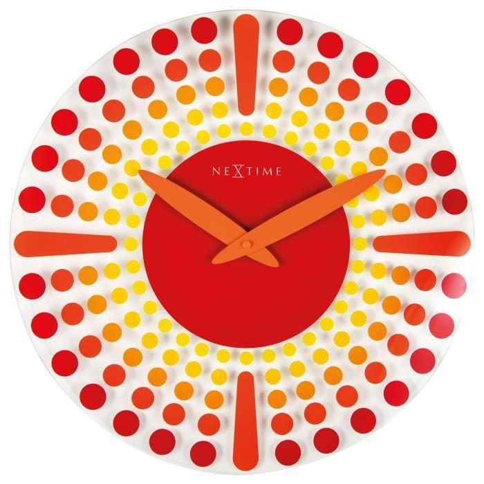 Cette horloge rappelle les créations des Aborigènes d'Australie...et apportera une touche d'originalité à votre intérieur. Diamètre 43cmHORLOGE - PENDULE