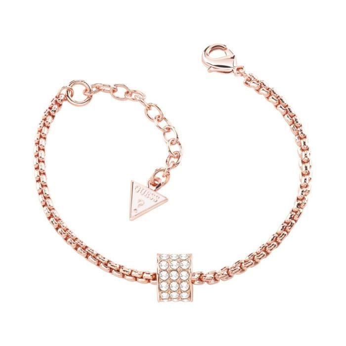 Guess - Bracelet - Acier inoxydable - Cristal - 19.0 cm - UBB21578-S