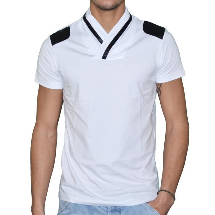 Homme T Foulard T Shirt Col Shirt Foulard T Homme Col EIHW29YD