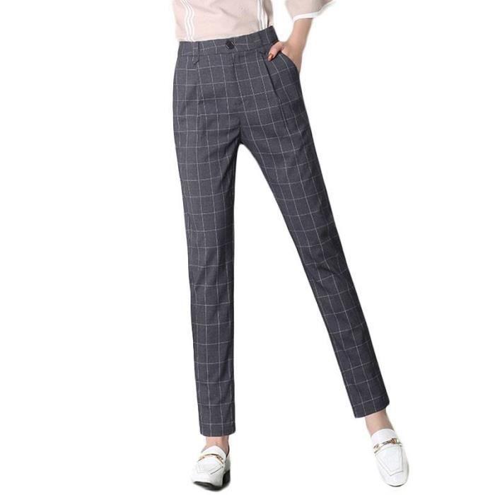 a8e4cc7974630 Pantalons a carreaux femme - Achat / Vente pas cher