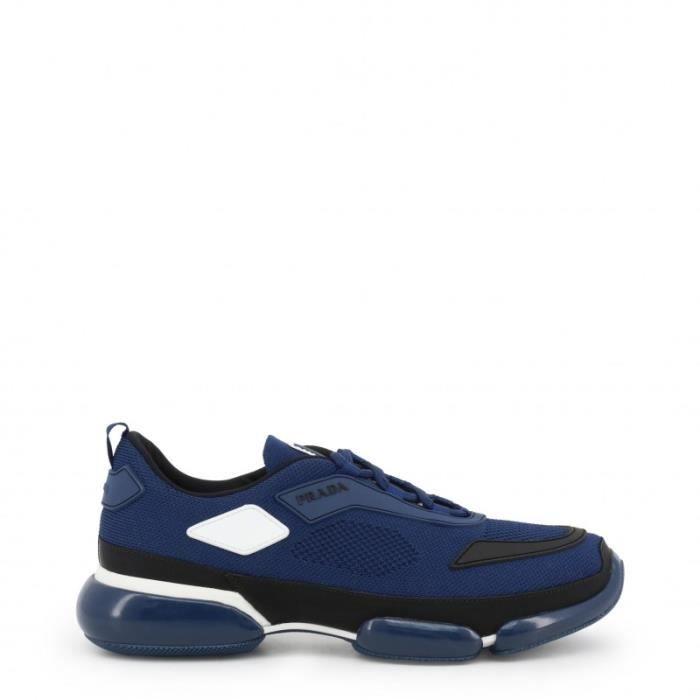 grandes variétés techniques modernes site autorisé Chaussures Sneakers Prada - Bleu Homme
