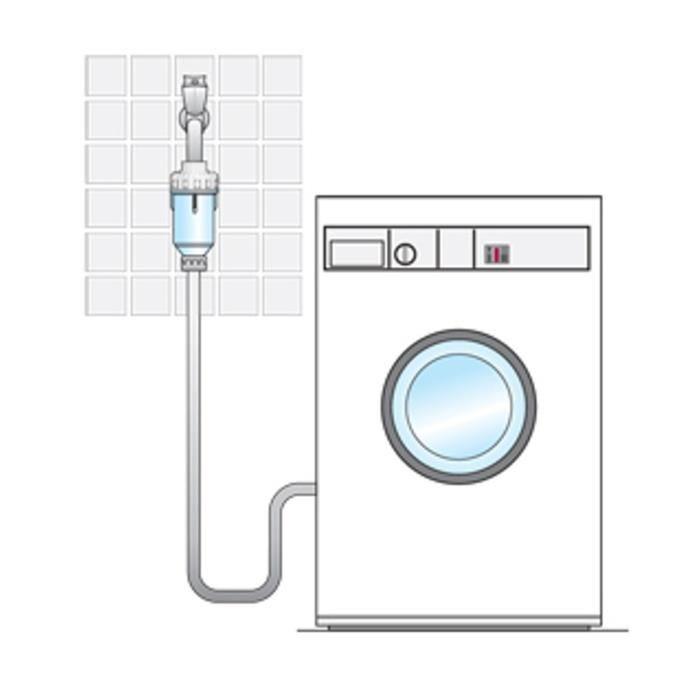 aquawater mini filtre pour machine laver et s che linge. Black Bedroom Furniture Sets. Home Design Ideas