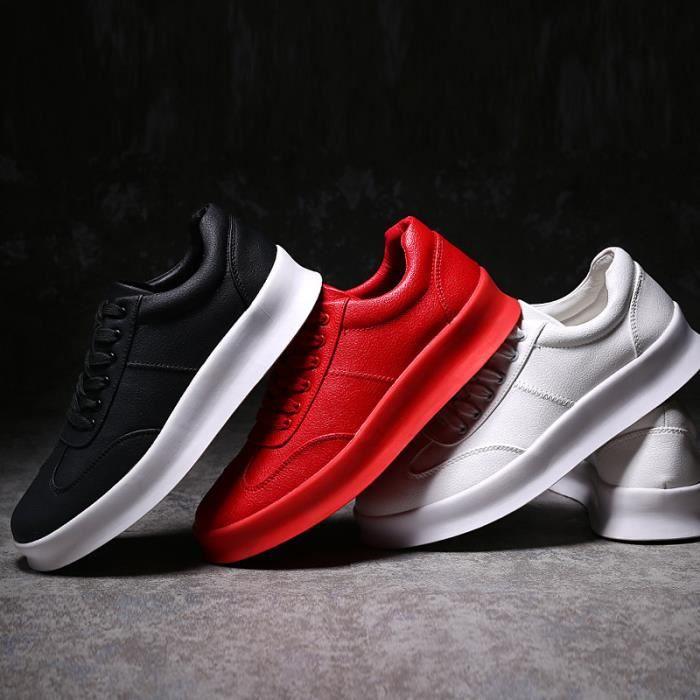 JOZSI Chaussure Homme Cuir Automne et Hiver Classique Chaussures de ville FXG-XZ186Noir 1uo7F