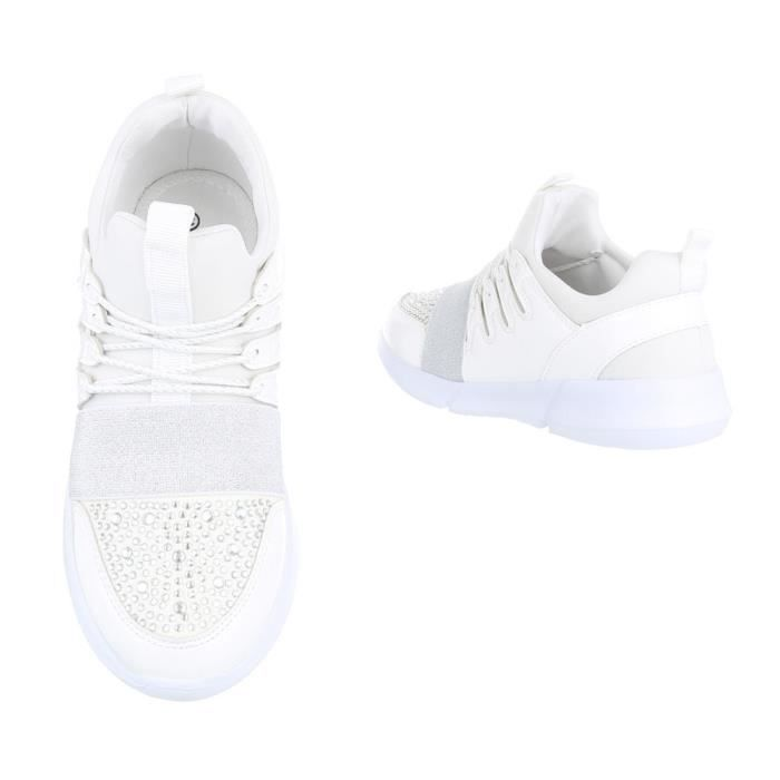Chaussures femme chaussures sportSneakers Chaussures de sport blanc 41