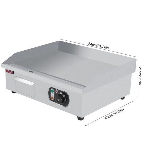 Plaque de cuisson appareil de cuisson Plaque chauffante électrique comptoir  machine dispositif bœuf œuf Barbecue BBQ 220V - Achat   Vente plaque  posable - ... 267d0fa59e11