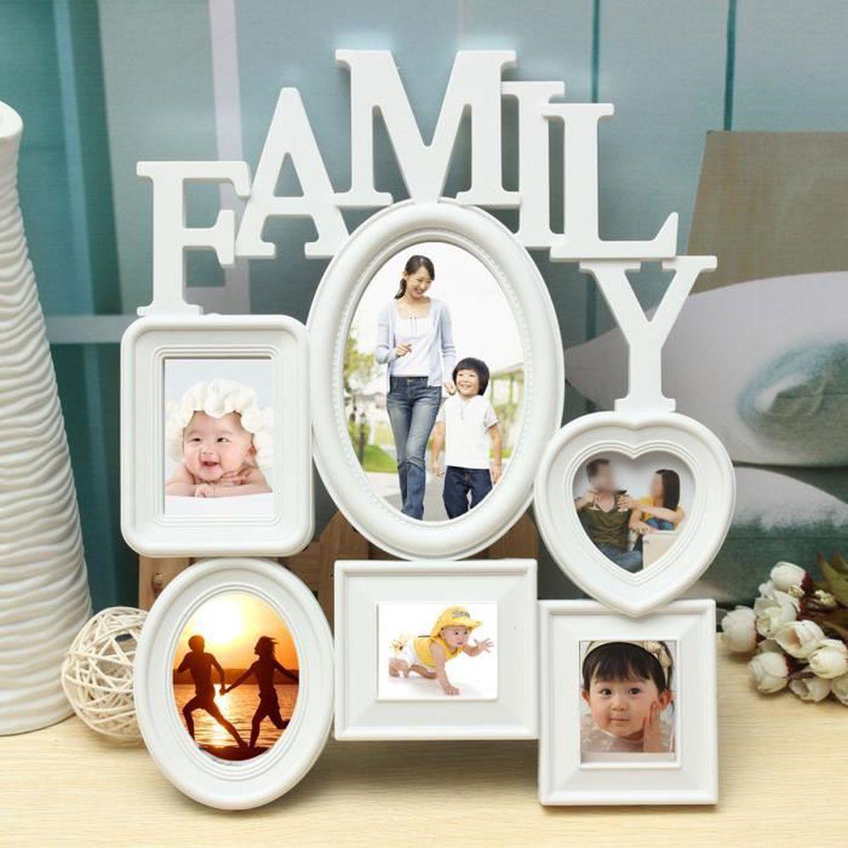 Bien-aimé Cadre photo famille - Achat / Vente Cadre photo famille pas cher  IL73