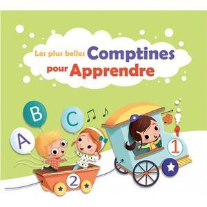 CD COMPTINES - ENFANTS Les plus belles comptines pour apprendre - CD pour