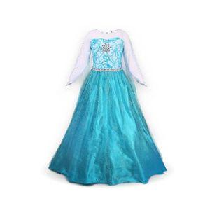 DÉGUISEMENT - PANOPLIE Princesse Reine des Neiges Frozen - Costume Enfant