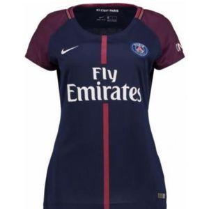 MAILLOT DE FOOTBALL Nouveau Maillot Femme Nike Saison 2017-2018 PSG Pa