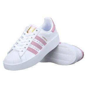 adidas Originals SUPERSTAR BOLD W Rose Chaussures Baskets