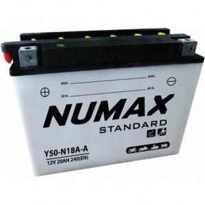 BATTERIE VÉHICULE Batterie moto Numax Standard avec pack acide Y50-N