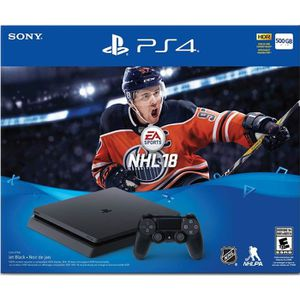 CONSOLE PS4 Console PS4 500 Go + NHL 18 + PSN 14 Jours
