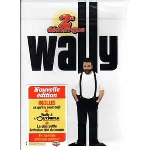 DVD SPECTACLE WALLY : 2EME DEMARQUE (NOUVELLE VERSION) DVD