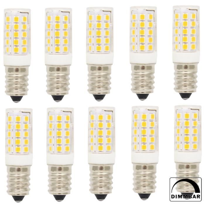Céramique Lampe E14 Chaud 350lm Lumiere Led Ampoule Lumineuse Leds Ac220 5w smd2835 Bulbs Blanc 240v Dimmable Spotlight 10x 44 sQdCtrh