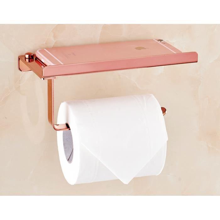 Denshine Porte Rouleau De Papier Toilette Wc En Acier Inoxydable