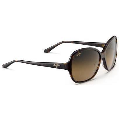 Maui jim - Lunettes de soleil - Maile - Lunettes Femme - Ecaille noir  Mauipure hcl bronze mauigradient d7e3fcdc4d1e