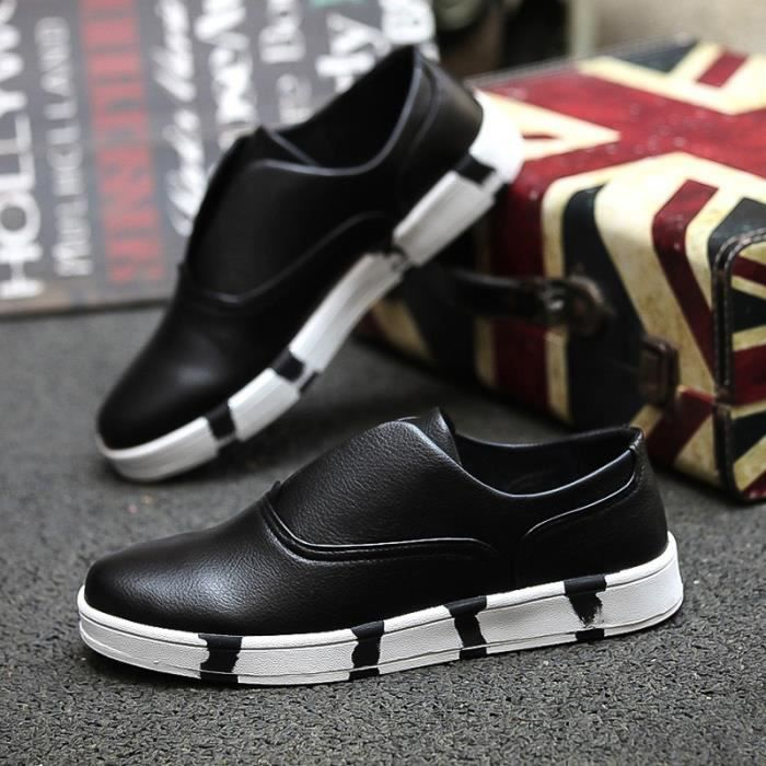 Mode Slip Casual Ons Mocassins hommes