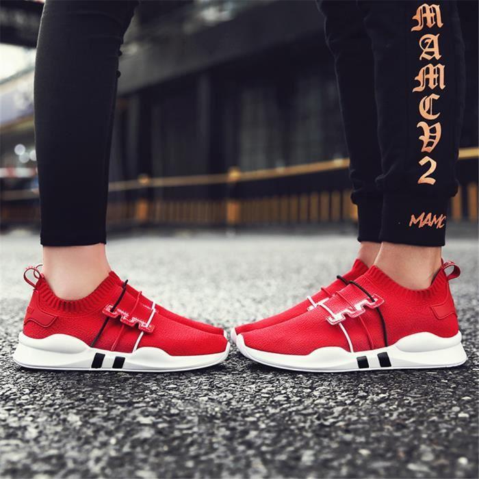 Sneakers Marque Respirant blanc 1 Rsistantes Baskets Luxe Super Chaussures Poids Rouge Femme De 2018 noir Lger L'usure Loisirs RxwEwa7vBq