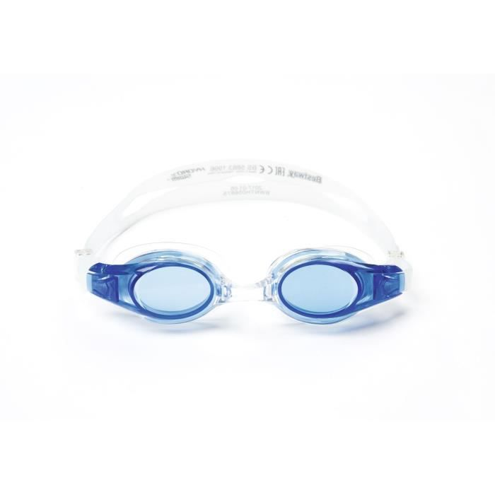BESTWAY Lunettes de natation Lil' Wave - 3 Couleurs assorties