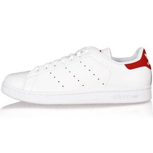 ADIDAS Baskets Stan Smith 2 Homme Blanc et rouge