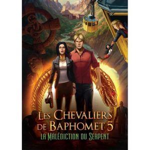 JEU PS4 Les Chevaliers de Baphomet - La Malédiction du Ser