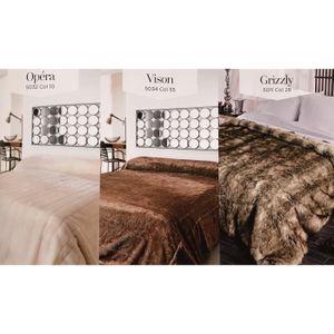 jete de lit fourrure achat vente pas cher. Black Bedroom Furniture Sets. Home Design Ideas