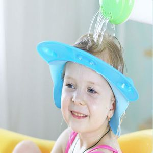 KIT BAIN BÉBÉ Bonnet de bain ajustable pour les enfants BLEU TU- 300131ce651