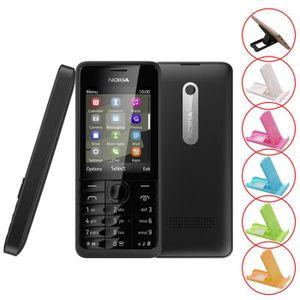 SMARTPHONE Noir Nokia 301 Dual SIM Card occasion débloqué rem