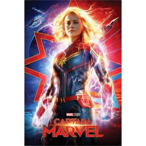 AFFICHE - POSTER Captain Marvel Higher, Further, Faster Maxi Poster