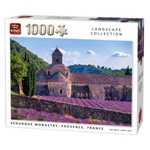 PUZZLE Puzzle 1000 pièces Notre-Dame de Sénanque, Provenc