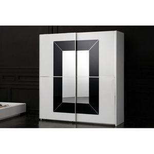 ARMOIRE DE CHAMBRE Armoire design vitrée et laquée collecion Preci…