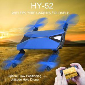 DRONE HY-52 DRONE  Wifi FPV 720 P Caméra Pliable Flux Op