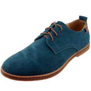 DERBY DADAWEN Chaussures de ville homme cuir Suede Oxfor