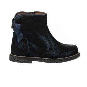 BOTTINE Boots fille - APPLES & PEARS  - Bleu marine - 30