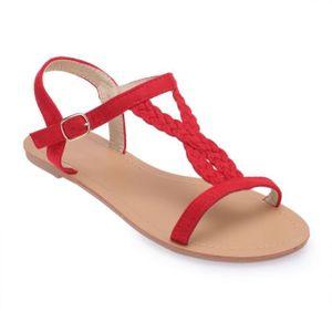 dbf89c0e84c756 Sandales La modeuse femme - Achat / Vente Sandales La modeuse femme ...