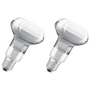 AMPOULE - LED OSRAM Lot de 2 Ampoules Spots LED R63 E27 2,8 W éq