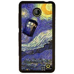COQUE - BUMPER Coque Nokia Lumia 630 - La nuit étoilée de Vincent