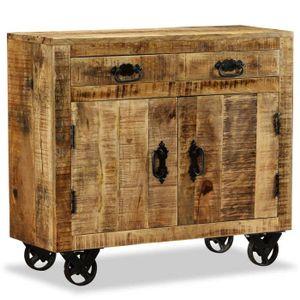 BUFFET - BAHUT  vidaXL Buffet avec 2 tiroirs et 1 armoire Bois de