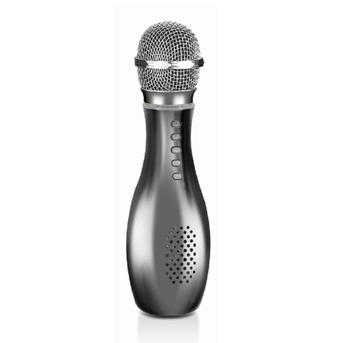 Efuture Microphone Q007 Bowling K Song Sans Fil (argent) 3 Pièces