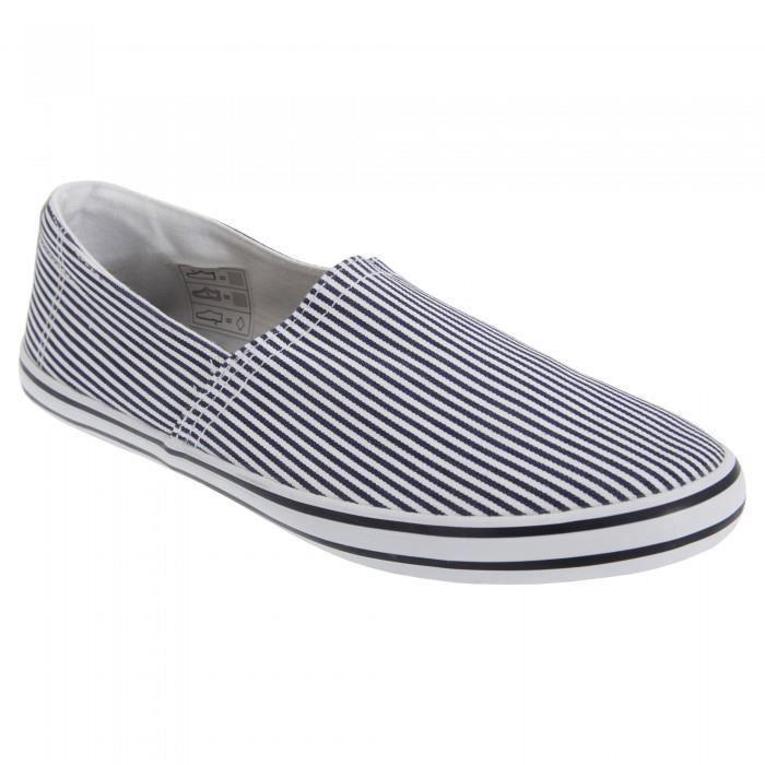 Soul à Chaussures rayures en Brave d'été Homme toile 1x7Hd7qz
