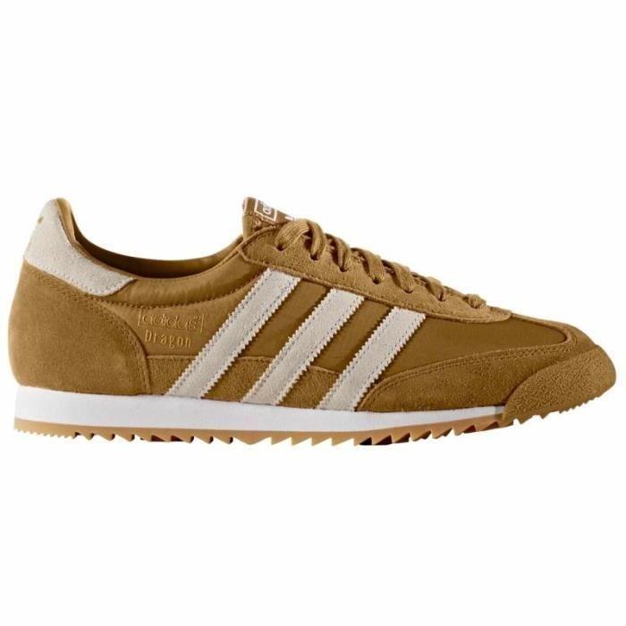01a7de60e54a Baskets -Adidas Vintage Dragon Brown Bb1262 - Couleur - Brun