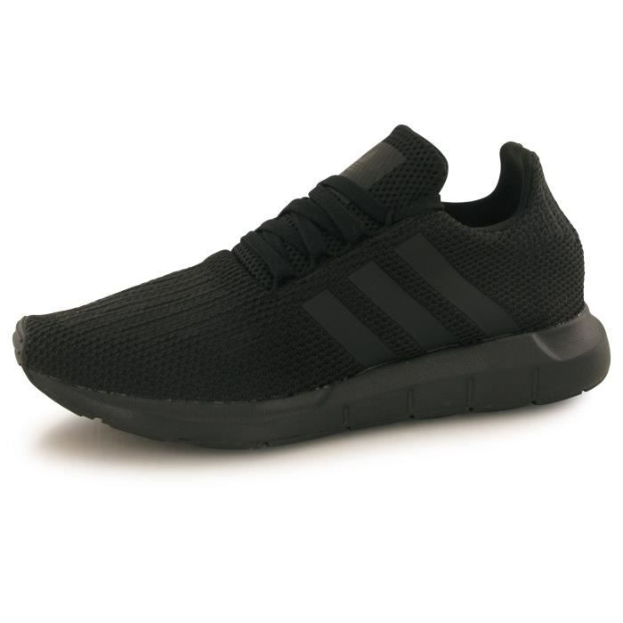 baskets noirs adidas homme