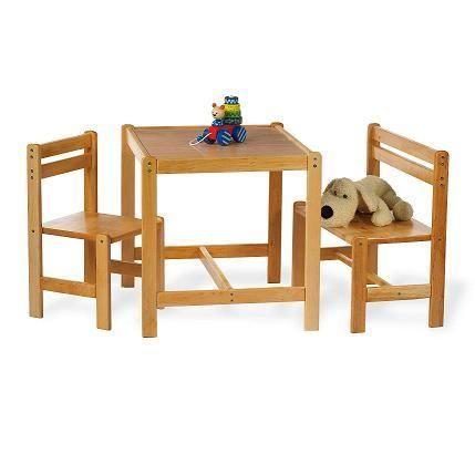 chaise enfant banc et table pour enfant sven achat. Black Bedroom Furniture Sets. Home Design Ideas