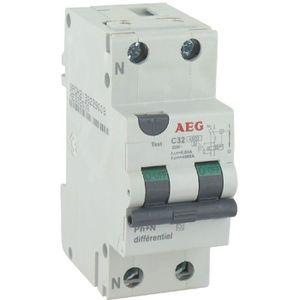 Disjoncteur aeg achat vente pas cher - Branchement coupe circuit 6 poles ...