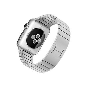 BRACELET MONTRE CONNEC. Apple Watch 42 mm stainless steel case  armband Si